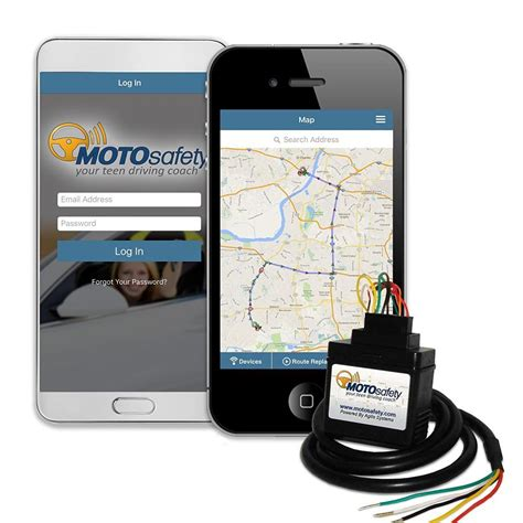 motosafety wired  gps tracking device vehicle tracker