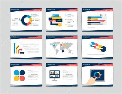 presentation business templates infographics for leaflet