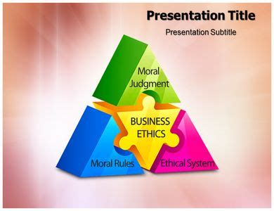 powerpoint themes ethics 30 best business ppt templates images on pinterest
