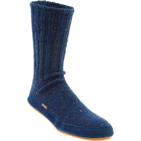 mens slippers socks acorn merino slipper sock s backcountry