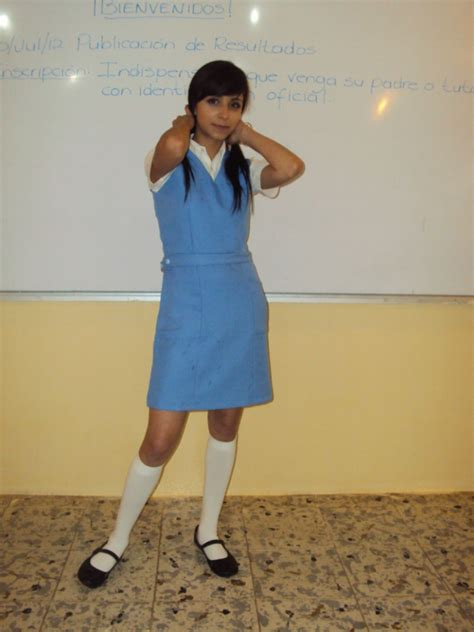 imagenes de jumpers escolares jumper uniforme escolar secundaria federal azul 2do grado