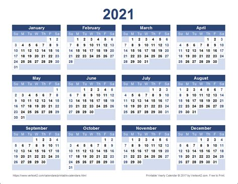 Calendar For 2021 Calendar Templates And Images