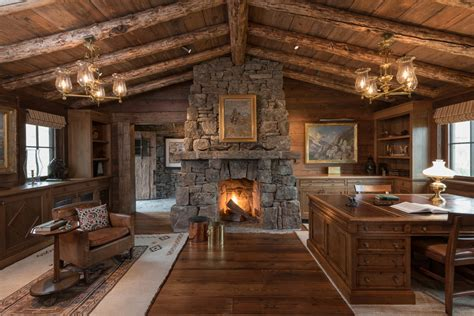 18 stylish rustic home office designs that will boost your