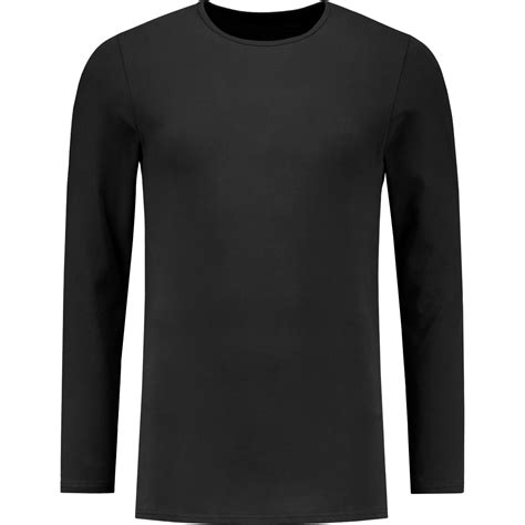 t shirt black crew neck longsleeve t shirt shirtsofcotton