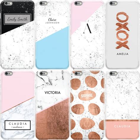 personalised marble nameinitialsletter phone case cover