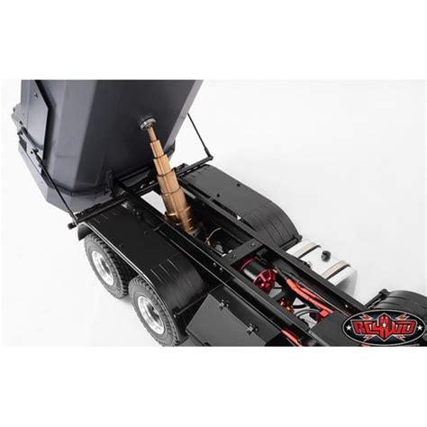 rcwd armageddon hydraulic  dump truck volvo fmx  scale rtr negozio  modellismo