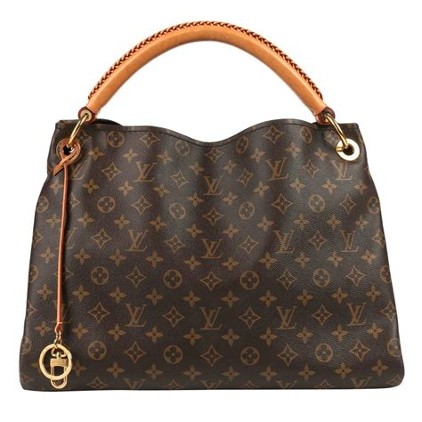 louis vuitton monogram coated canvas artsy mm shoulder