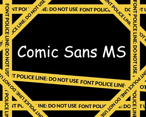 20 bad fonts you should be avoiding