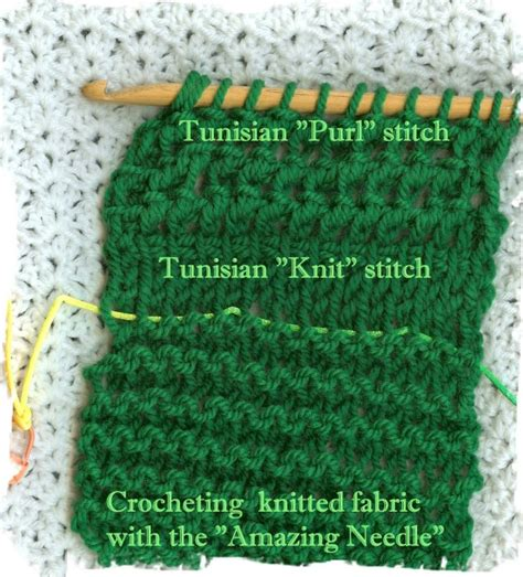 crochet vs knit crochetingwithdee quot amazing needle quot vs tunisian crochet