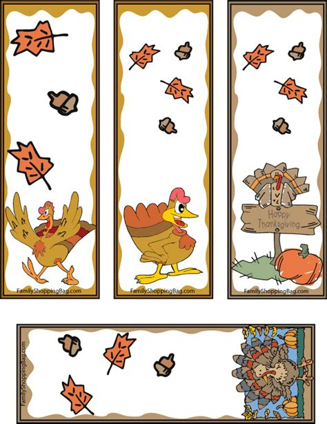 printable turkey bookmarks thanksgiving turkey bookmarks and thanksgiving on pinterest
