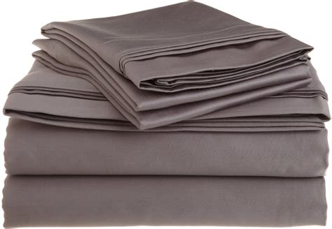 cotton sheets luxury cotton 1500 thread count solid sheet sets ebay