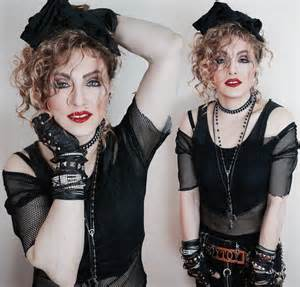 Madonna impersonator chris america lucky star mdna holiday christmas