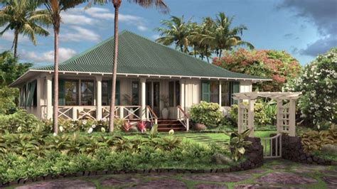 hawaiian plantation style house plans hawaiian plantation