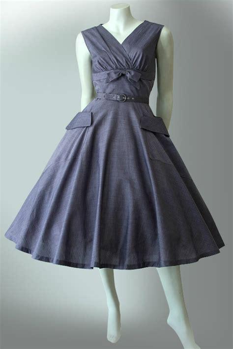 classic 1950s cotton dress vintage clothing genuine