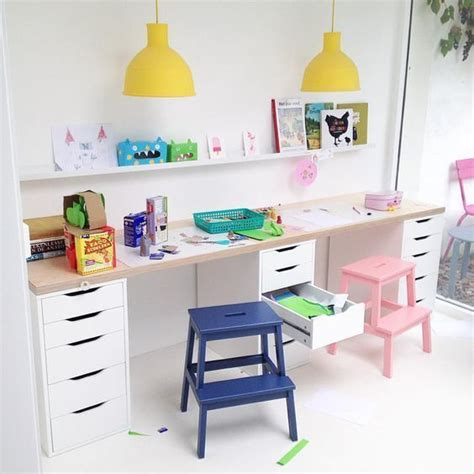Kid Study Desk 25 Best Ideas About Ikea Desk On Ikea Craft Room Childrens Desk And Ikea Playroom