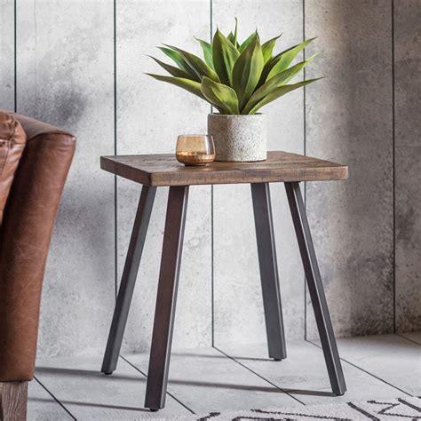 camden rustic side table wooden side table wooden tables