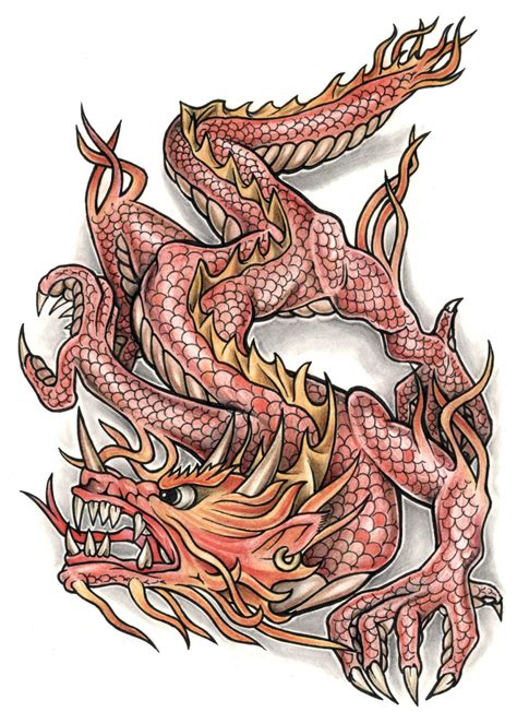 two headed dragon tattoos designs colorful tattoos dragons
