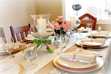 how to decorate a table how to make dining table d 233 cor for round table shape