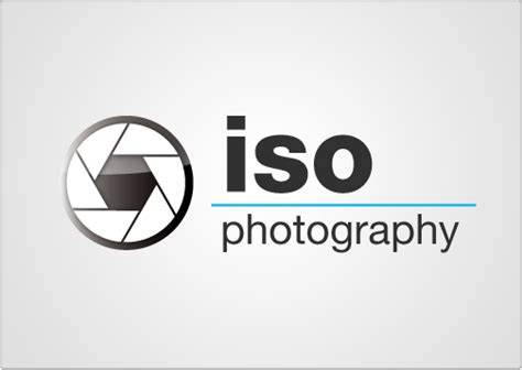logo template toi design iso photography