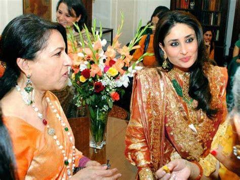 film bollywood lawas kareena kapoor says mother in law sharmila tagore likes to