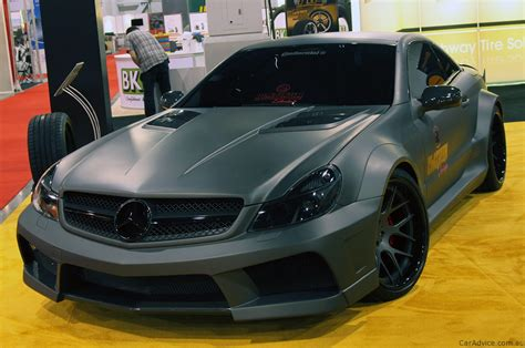 mercedes sl65 amg black series by platinum motorsports photos 1 of 6