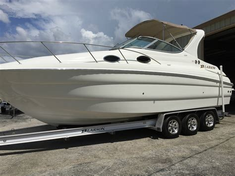 larson boats cabrio 290 larson 290 cabrio mid cabin 2004 for sale for 38 999