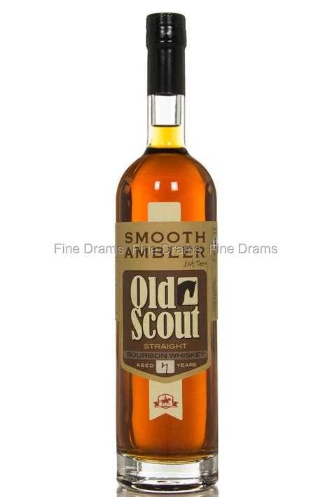 smooth ambler old scout bourbon smooth ambler old scout 7 year old bourbon
