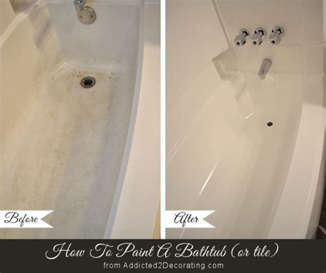 painted bathtub how to paint a bathtub and tub surround
