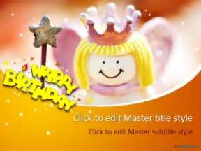 Free Happy Birthday Ppt Template Happy Birthday Powerpoint Template