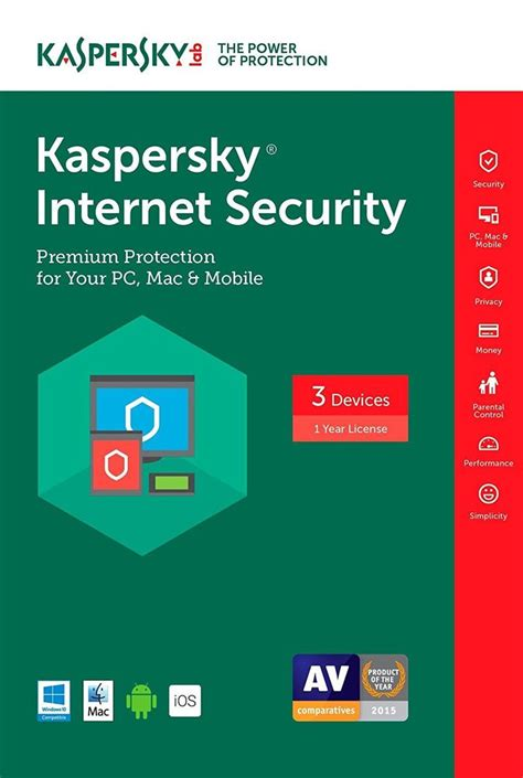 Kaspersky Security 2018 3 User Compatible For Mac kaspersky security 3 devices 1 year 2017 ebay