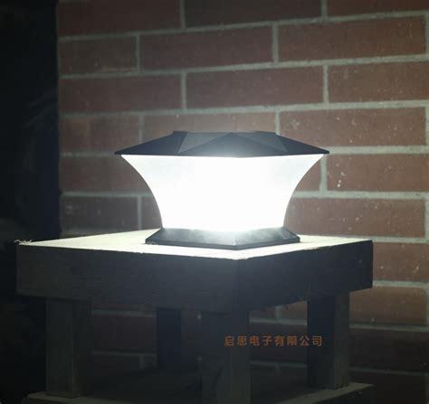 Bright Solar L Post by 2 Pieces Lot Ultra Bright 7 Solar Post Cap Light With18pcs Leds Solar Post Cap Light Deck