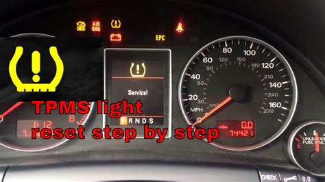 tire pressure monitoring 2010 audi a5 head up display how to reset tire pressure light tpms on 2008 audi a4 youtube