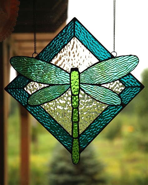 dragonfly stained glass l simple dragonfly stained glass pattern by suzette teich