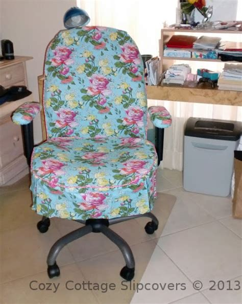 slipcovers for desk chairs cozy cottage slipcovers new office chair slipcovers