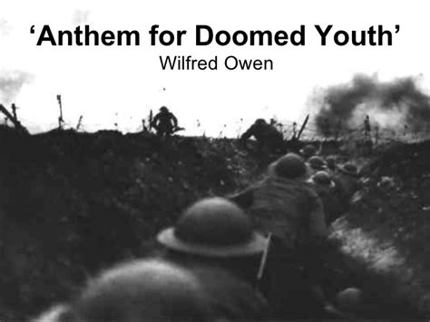 anthem for doomed youth anthem for doomed youth