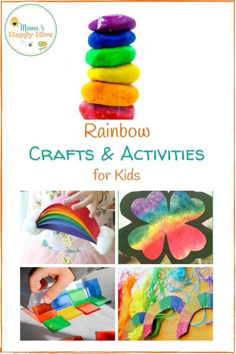 crafts activities for st s day rainbow crafts and activities for
