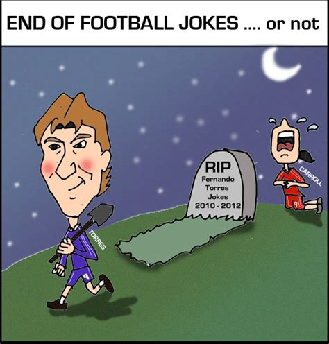 Or Jokes Comic The End Of Football Jokes Or Not