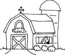 barn coloring pages barn coloring page free clip