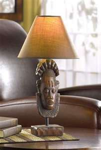 african art lamps images african art lighting