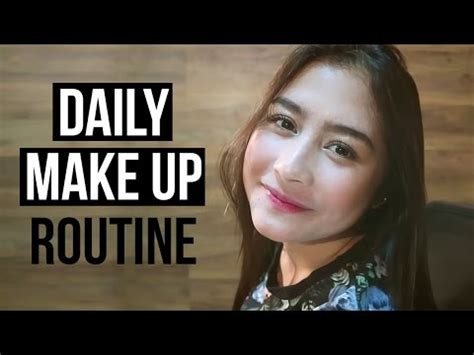 tutorial makeup prilly tutorial daily make up routine by prilly latuconsina