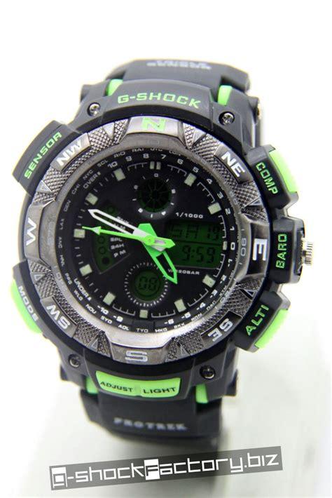 g shock aviator ga 1000 black green by www g