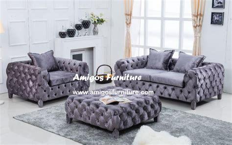 Living Room With Purple Sofa » Home Design