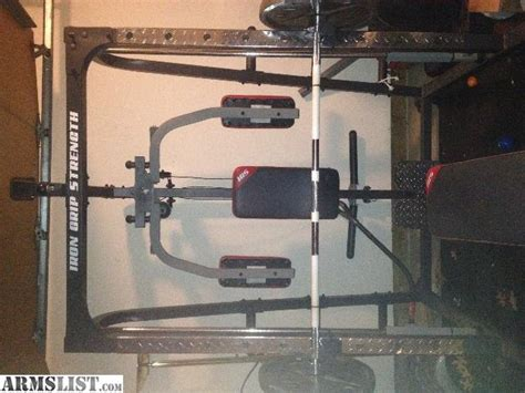 iron grip bench armslist for sale trade iron grip strength 4350
