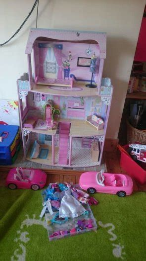 elsa and anna doll house dolls house barbie elsa anna for sale in dun laoghaire dublin from muffinb