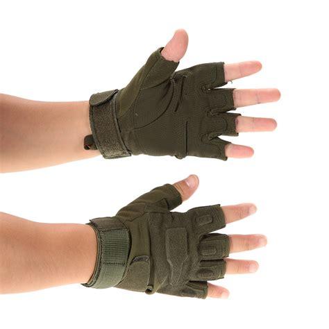 sarung tangan motor half finger size l black