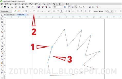 cara membuat warna pattern pada objek membuat bentuk objek dengan mudah menggunakan coreldraw x7