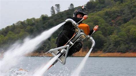 jet ski water rocket jetovator is like a flying jet ski