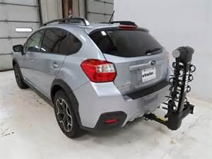 Subaru Crosstrek Hitch Subaru Xv Crosstrek Thule Vertex 4 Bike Rack 1 1 4 Quot And