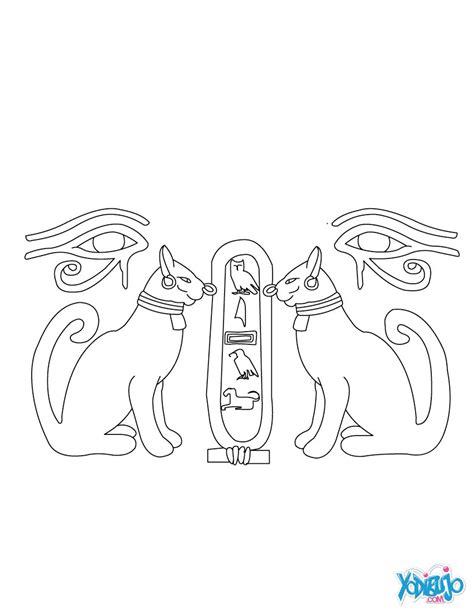 dibujos de jelogrificos dibujos para colorear papiro del antiguo egipto es