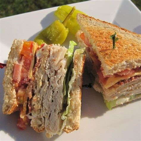 ham and turkey club sandwich recipe 1000 images about food on cheddar cheesecake